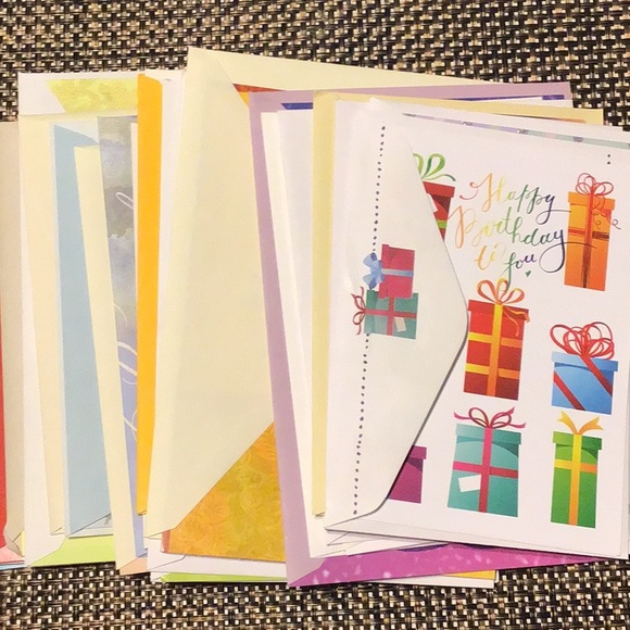 Greeting cards 25 various
